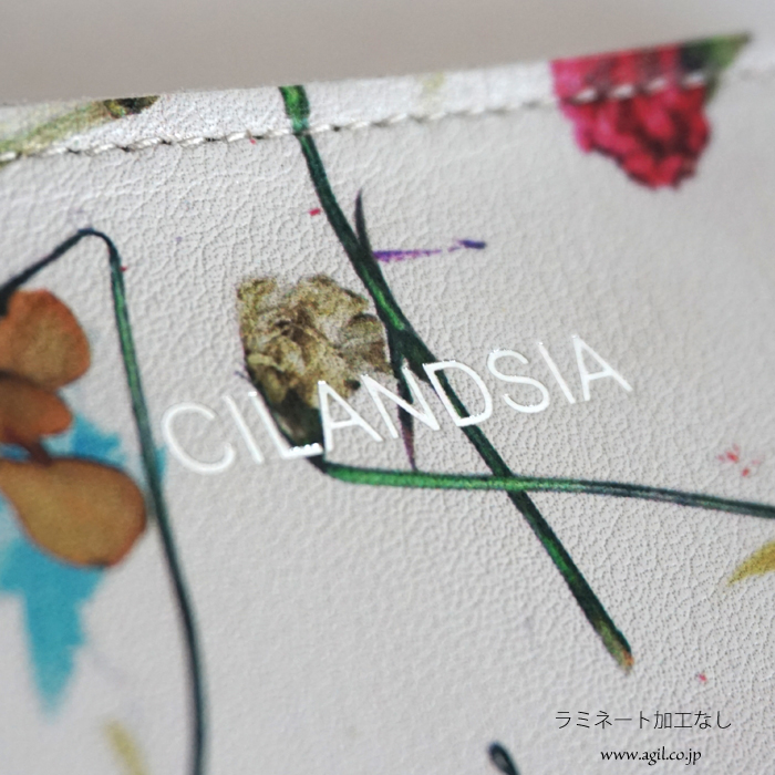 CILANDSIA(チランドシア) ラウンドファスナー長財布 牛革 本革 ボタニカルプリント 0078 レディース メンズ 送料無料